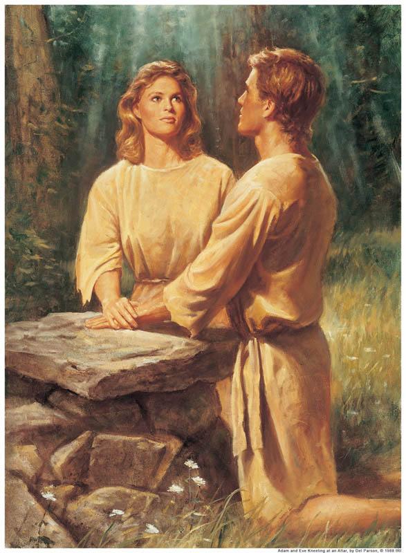 Adán y Eva-mormon