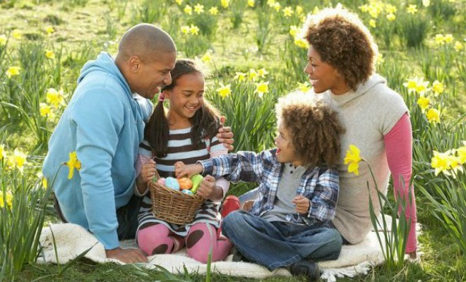 black-family-celebrating-easter
