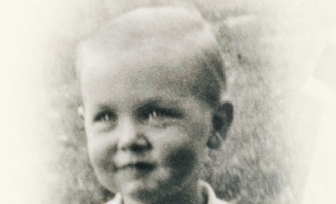 Retrato de Jeffrey R. Holland cuando niño. Cortesía de LDS.org.